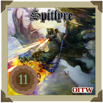 spitfyre cover logo advent 11